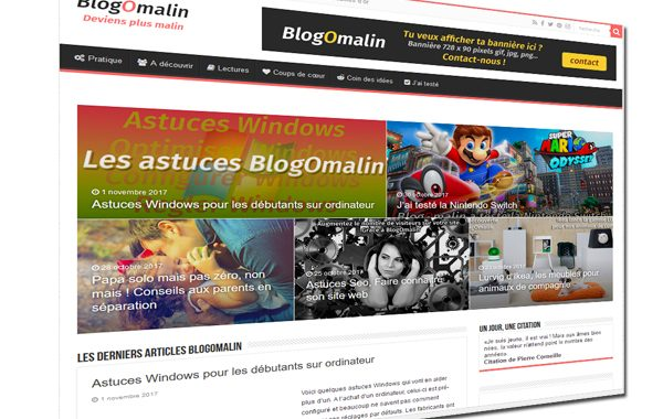 Le blog malin BlogOmalin