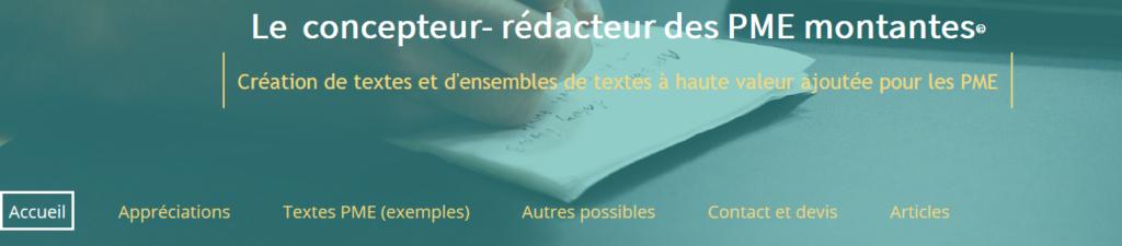 Extraits de textes d'excellence pour PME montantes : simplicité, concision, intérêt…